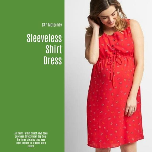 a1c2dc6e4e Gap Maternity Shirt Dress (3 for  30) (U21)